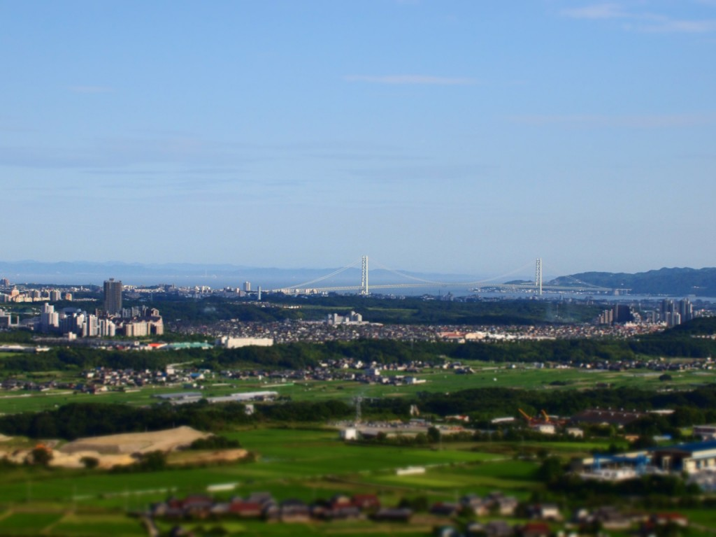 ジオラマ明石大橋-2011-7-9
